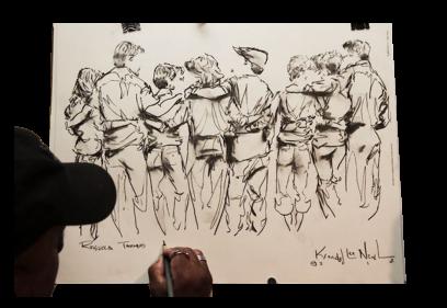 Butt Sketch Texas Entertainment
